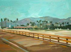 "Saatchi Online Artist Filip Mihail; Painting, ""Santa Barbara 2"" #art"