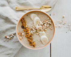 Coconut quinoa puddi
