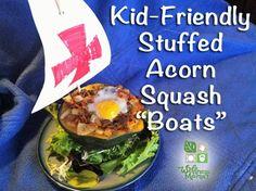 Stuffed Acorn Squash Boats