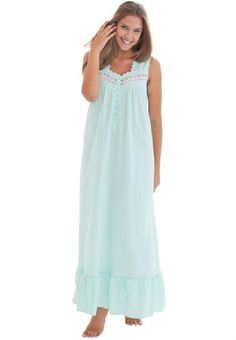 Fashion Bug Plus Size Sleeveless Long Woven Night Gown www.fashionbug.us