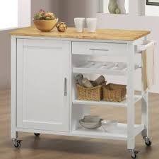 White Kitchen Trolley