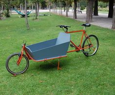 as promised in my last instructable, here's my attempt to build a 2-wheeler. why? i got infected by the bike-building virus. especially cargo bikes ar...