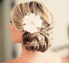 1000 images about haar bruiloft on pinterest bridal updo updo and braided updo - Decoreren haar intrede ...