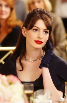 Andy Sachs from The Devil wears Prada . . . in classic fashion that reminded me of Audrey Hepburn.