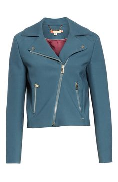 fe6ef728c279f4 Ted Baker London Colour by Numbers Nisah Biker Jacket