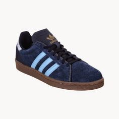 MENS SHOES Adidas Campus Leather Trainers £27.50 plus £3.99 delivery at USC £31.49
