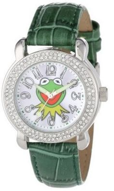 Fans of The Muppets (like me) LOVE this Kermit the Frog wrist watch! #kermit #watches #themuppets