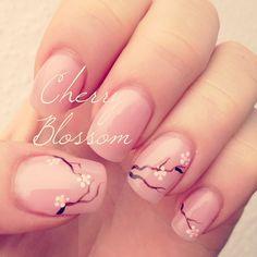 Cherry Blossom #nailart #stempelwiese