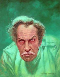 Vincent Price - One of the original and best actors dedicated to the horror genre. Also the inspiration for my son's name.