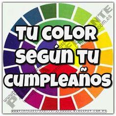 Piensa Diferente: Tu color según tu cumpleaños