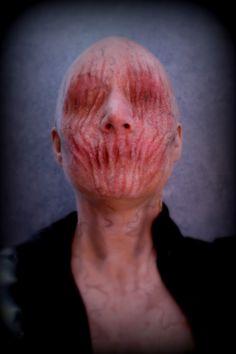 prosthetic gelatin makeup by Rhonda Causton (Reel twisted FX)