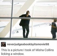 This is not the first nor the last time he has done this xD Oh, Misha