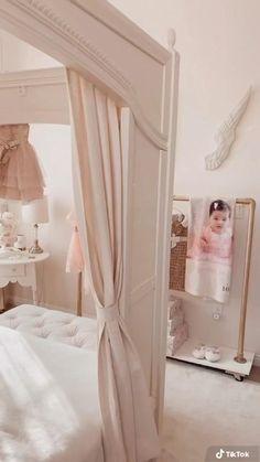 Big Girl Bedrooms, Pink Bedrooms, Little Girl Rooms, Girls Bedroom, Kids Bedroom Furniture, Ikea Furniture, Room Decor Bedroom, Baby Room Closet, Girl Closet