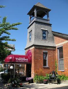 Amicarelli Vineyard- an old church converted into a wonderful restaurant! {South Haven, Michigan}