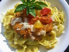 V kuchyni vždy otevřeno ...: Cuketová omáčka na těstoviny Risotto, Macaroni And Cheese, Recipies, Spaghetti, Chicken, Meat, Ethnic Recipes, Food, Recipes