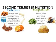 Nutrition for your second trimester.