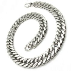 20mm 316L Stainless Steel Necklace