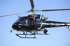 Helicóptero da Polícia Civil faz voo inaugural no céu de Porto Alegre Ronaldo Bernardi/Agencia RBS