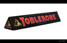 Toblerone was created by Theodor Tobler and Emil Baumann in Bern, Switzerland in 1908. They developed a unique milk chocolate including nougat, almonds and honey with a distinctive triangular shape. The product's name is a portmanteau combining Tobler's name with the Italian word torrone (a type of nougat). Whats interesting in the Matterhorn mountain logo is that there is a bear hidden in it - symbolizing the town of its origin.