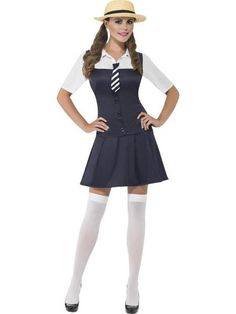 c8de14504 Buy from Fancypanda for exciting deals . The 'school girl' is a classic  costume · School Girl Fancy DressLadies ...