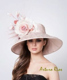 Couture Derby Hats Nude Lampshade Hat by ArturoRios on Etsy, $225.00