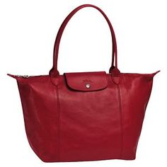 Longchamp did it in leather!  So many colors, which one to choose?