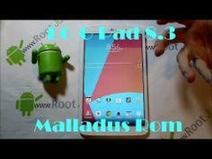 LG G Pad 8.3 Malladus rom review & install