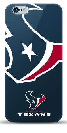 NFL Houston Texans TPU Licensed Oversized Logo Case for iPhone 6 Plus / 6s Plus - (A Grade)
