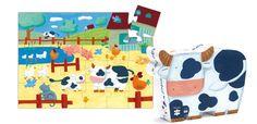 Mucca e fattoria http://www.borgione.it/Puzzle/Puzzle-con-13-29-pezzi/Mucca-e-fattoria/ca_22567.html