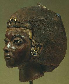 """ferrarisheppard: """" Queen Tiye (tea-yay) Great Royal Wife of Amenhotep III 1338 BC """""""