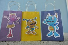Henry Hugglemonster Goody Bags on Etsy, $18.00