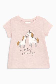My Sister Is Unreal T-Shirt (3mths-6yrs)