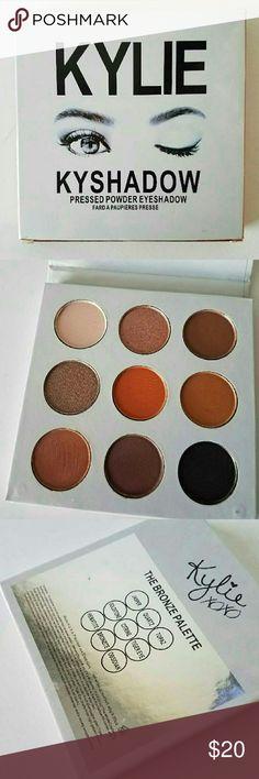 Kylie Cosmetics Bronze Palette Nine gorgeous eyeshadows in Kylie Cosmetics Bronze Palette brand new with box. Kylie Cosmetics Makeup Eyeshadow