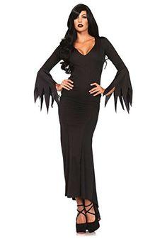 Leg Avenue – 374406001 – Robe Longue – Gothique – M/l (38-40 Eu): Robe longue gothique. Marque américaine de référence, utilisée par des…