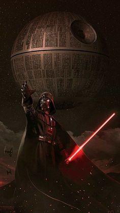 Iphone Wallpapers Dark - Darth Vader Death Star Empire Star Wars Sith Dark Side Anakin Skywalker The Chos. Star Wars Fan Art, Star Wars Film, Star Wars Poster, Star Trek, Darth Vader Star Wars, Darth Vader Death, Anakin Vader, Anakin Skywalker, Darth Maul