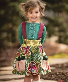 Sewing For Babies Persnickety Clothing - Emerald Pine Charlie Top in Green - Persnickety Clothing - Emerald Pine Charlie Top in Green Little Girl Outfits, Little Girl Fashion, Toddler Fashion, Toddler Outfits, Kids Fashion, Outfits Niños, Baby Outfits, Kids Outfits, Fashion Niños