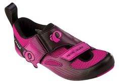 Pearl Izumi 2014 Women's Tri Fly IV Carbon Triathlon Bike Shoes Pink Black 39 5 | eBay