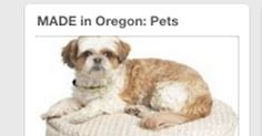 Check out my Made in Oregon: Pets board for made in Oregon gifts for your furry friends.
