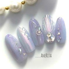 Japanese Nail Design, Japanese Nails, Pearl Design, Dream Nails, Summer Nails, Nail Designs, Pearl Earrings, Nail Art, Jewelry