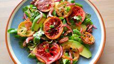 Geroosterde citrussalade met avocado