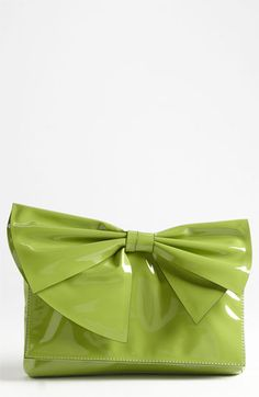 Valentino - 'Lacca Bow' Flap Clutch