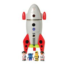 Space Mission Rocket Ship from CP Toys on shop.CatalogSpree.com, your personal digital mall.
