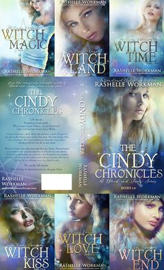 New Cover Reveals! The Cindy Chronicles by RaShelle Workman
