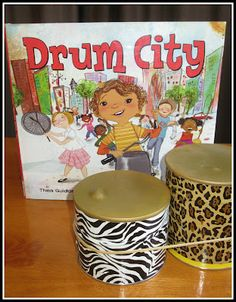 Music in the classroom....book on drums and how to make own drums
