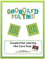 Free Geo Board Match--Mini card pack