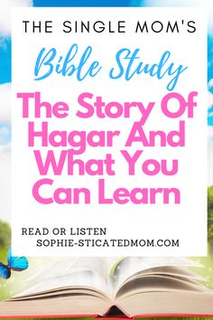 Hagar is the perfect single mom Bible study. She was abandoned by her son's father, ditched for a new family, and made to struggle on her own. But what we can learn from the story of Hagar is how we can triumph in difficult single moms situations. Christian advice and Bible study or single moms Single And Happy, Single Moms, Becoming A Single Mom, Online Bible Study, Spiritual Formation, Study Board, Spiritual Disciplines, Christian Encouragement, Power Of Prayer