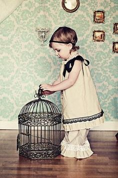 Toddler Girl, Vintage #photography