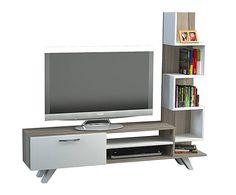 Mueble de TV Ceren - blanco