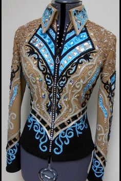 Horse show clothes Western Show Shirts, Western Show Clothes, Horse Show Clothes, Western Outfits, Western Wear, Riding Clothes, Chemises Country, Showmanship Jacket, Show Jackets