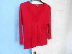 Black Tunic, Black Blouse, Long Tops, Monsoon, Black Silk, Blouses For Women, Size 16, Tunic Tops, Red